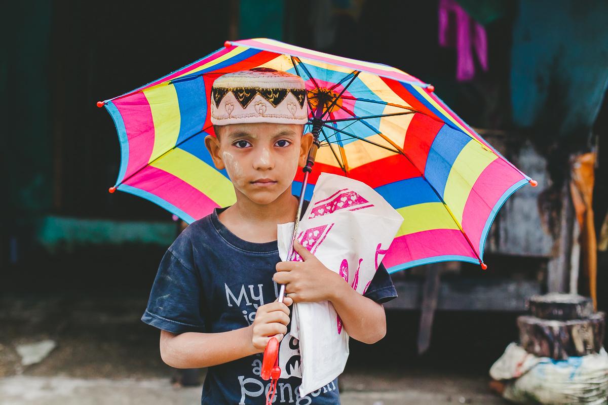enfant-parapluie