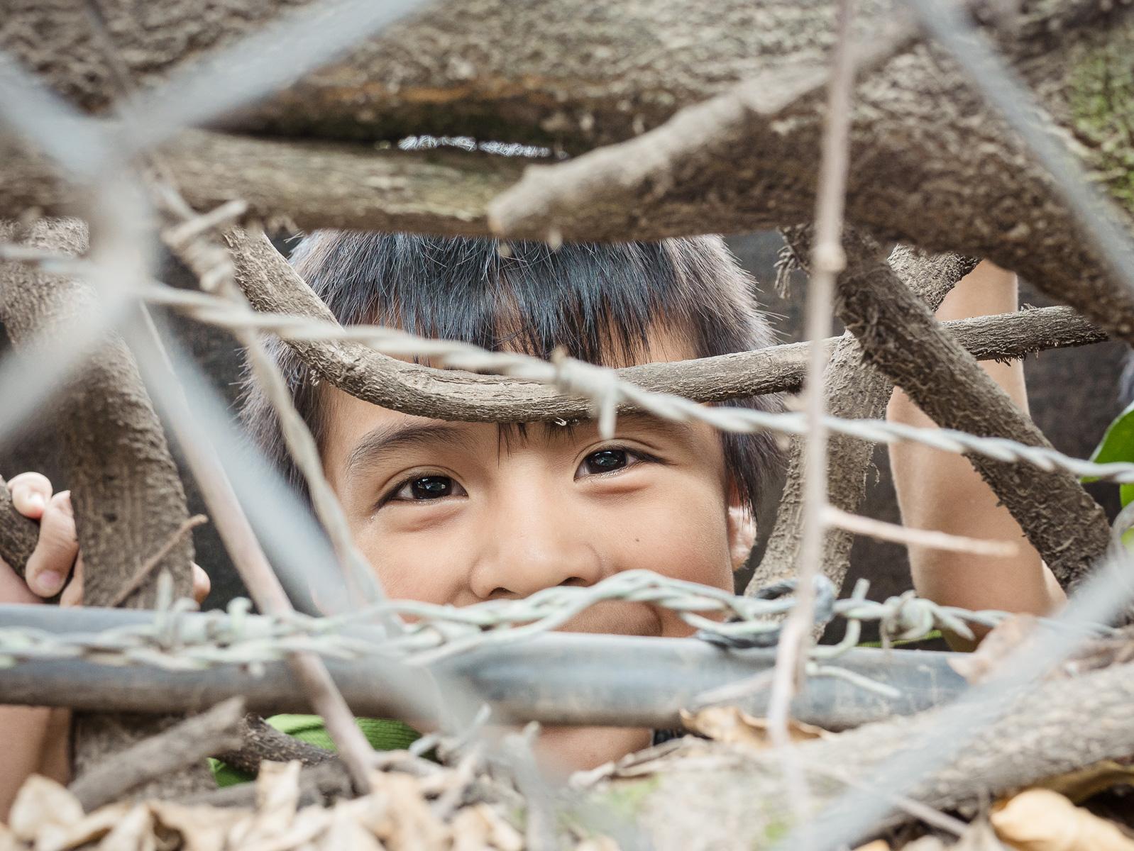 l'enfant caché (un rire au Guatemala)