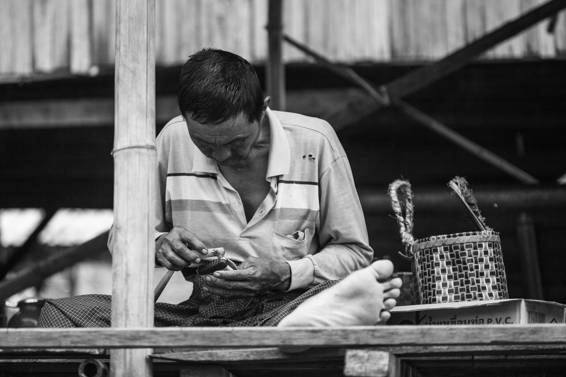 ouvrier birmanie